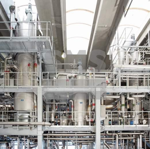 短程蒸发器 - 短程蒸发器 - 工作壓力高達0.001 mbar(a)