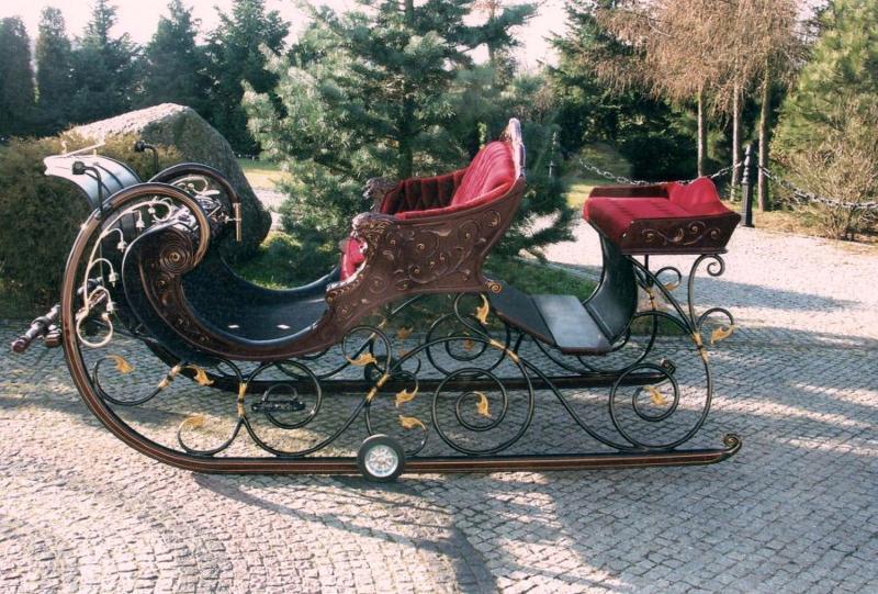 Schlitten - Kutschen