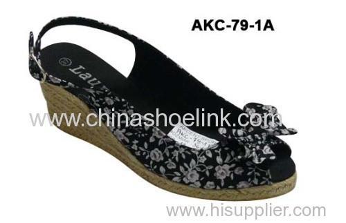 Lady Jute shoe - China Fashion