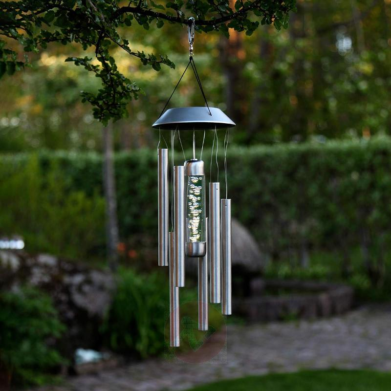 Bubbly - decorative wind chime with lighting - Decorative Solar Lights