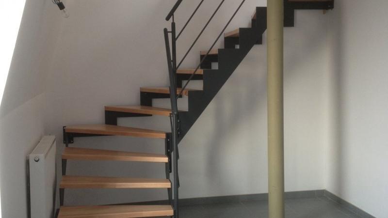 Escalier en bois massif huilé