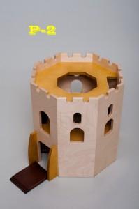 Wooden castle P2 - Wooden Toy Castle