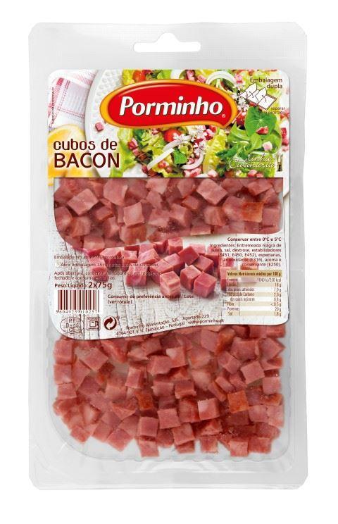 Bacon Cubos Fatiado -