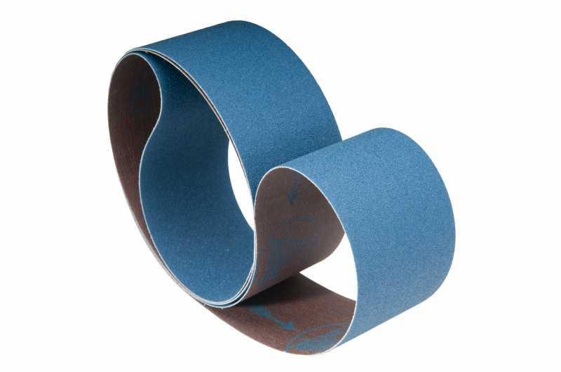 Schleifbänder für Holz / Fußboden, Metall ZU62Y - Körnungen: P24, P36, P40, P50, P60, P80, P100