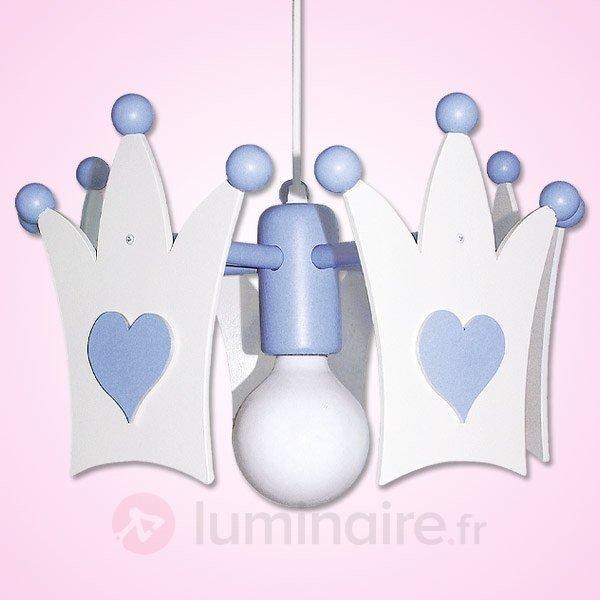Charmante suspension KRONE, bleu clair - Chambre d'enfant