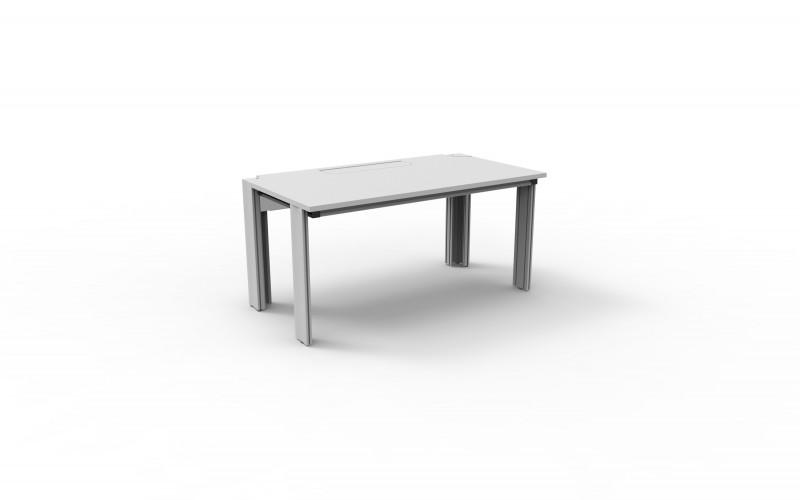 ALWO system table - Lab furniture, various dimensions available, electrification in table profile