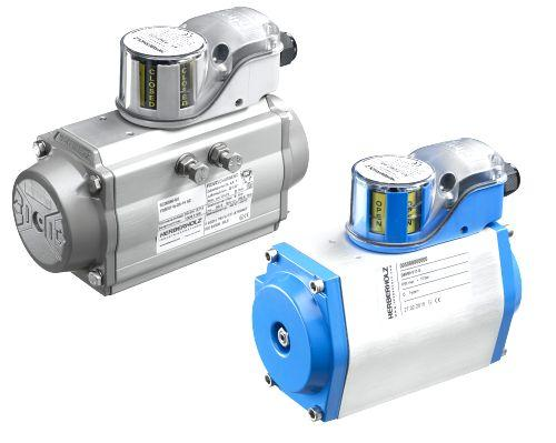 PNEUMATIC ACTUATORS WITH LIMIT SWITCH BOX  - TYPE D OR DR