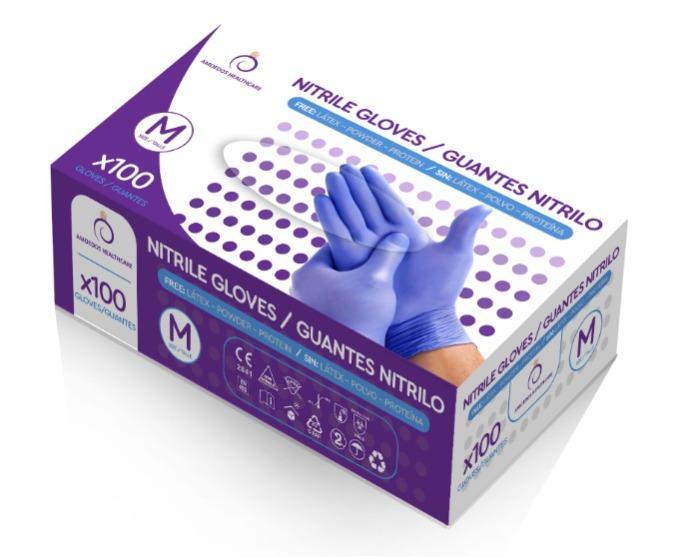 guantes de nitrilo - guantes de nitrilo