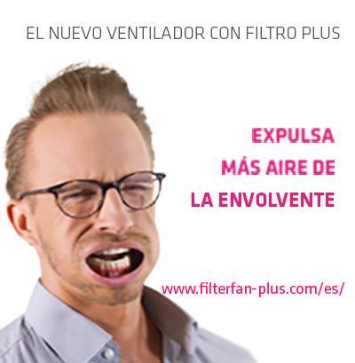Flyer VENTILADOR FILTRO PLUS - Explusa más aire de la envolvente