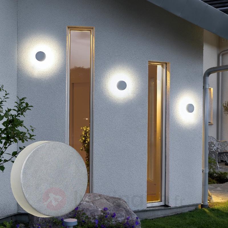 Applique extérieure ronde New Pesaro LED - Appliques d'extérieur LED
