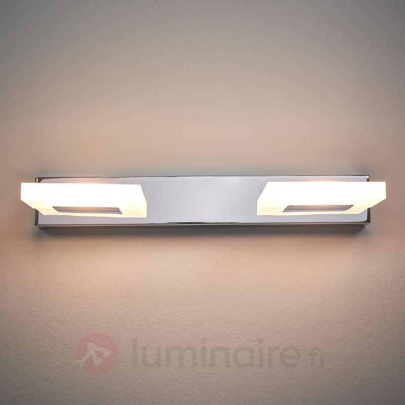 Applique rond LED Fabiola à 2 lampes - Appliques LED