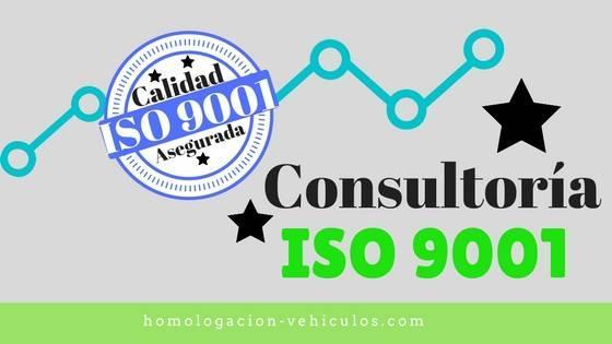 Consultoria ISO 9001 - Implantación Sistema de Gestión de Calidad