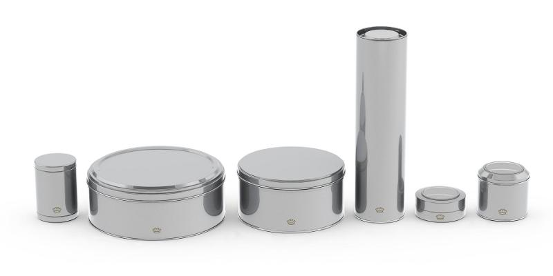 Specialty Packaging - Round Tins
