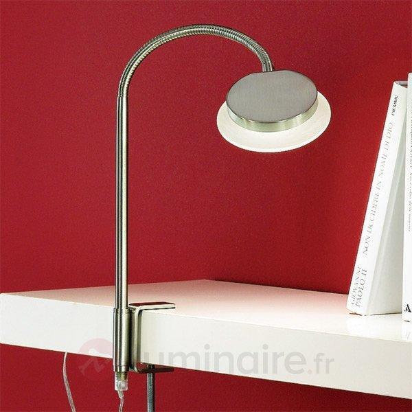 Lampe à poser avec pince Lentje - Lampes à poser LED