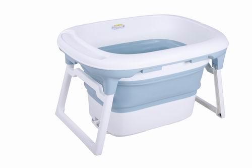 Portable Collapsible Bathing Tub - foldable Shower Basin tub