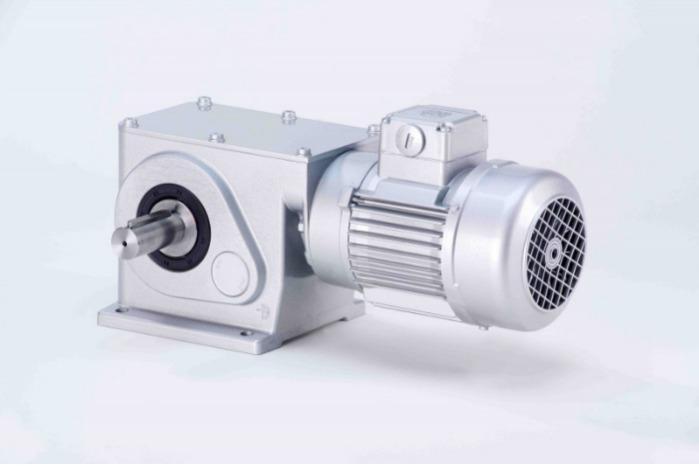 SN19 - Zweistufiger Getriebemotor mit Ausgangswelle