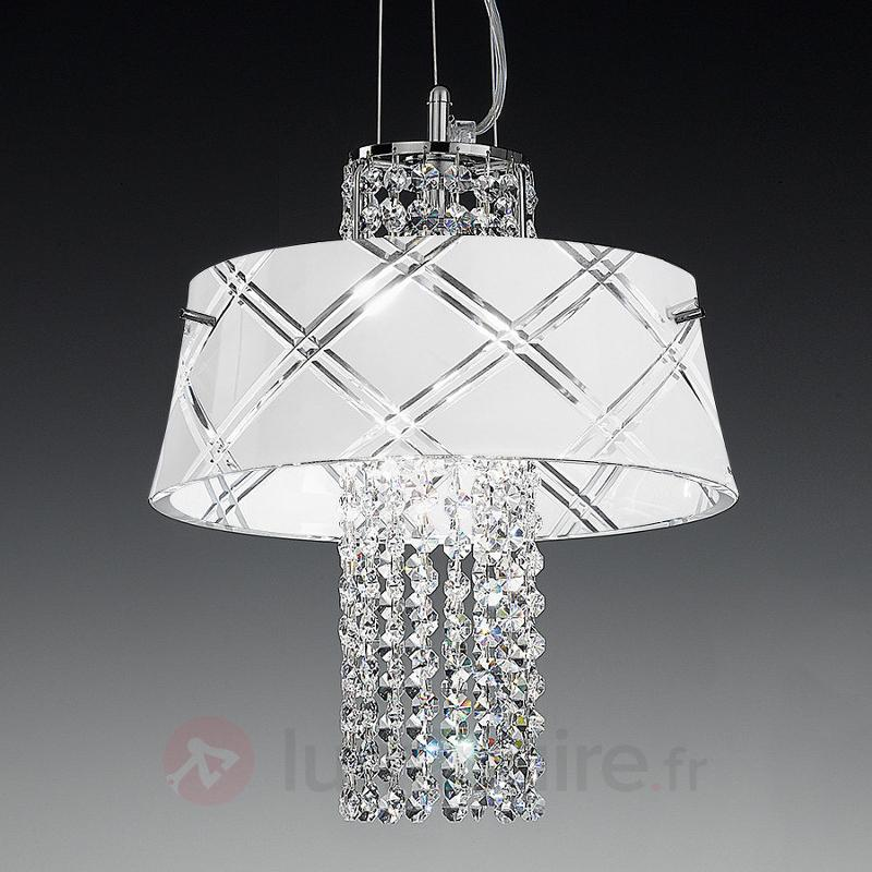 Belle suspension MEDUSA 30, 1 lampe - Suspensions en cristal
