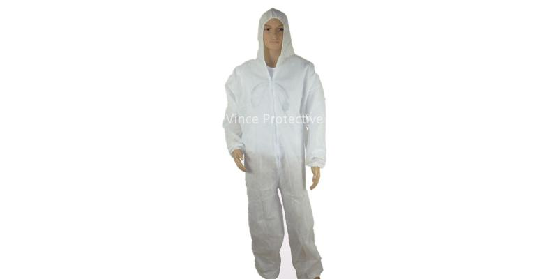 PP White Coverall -