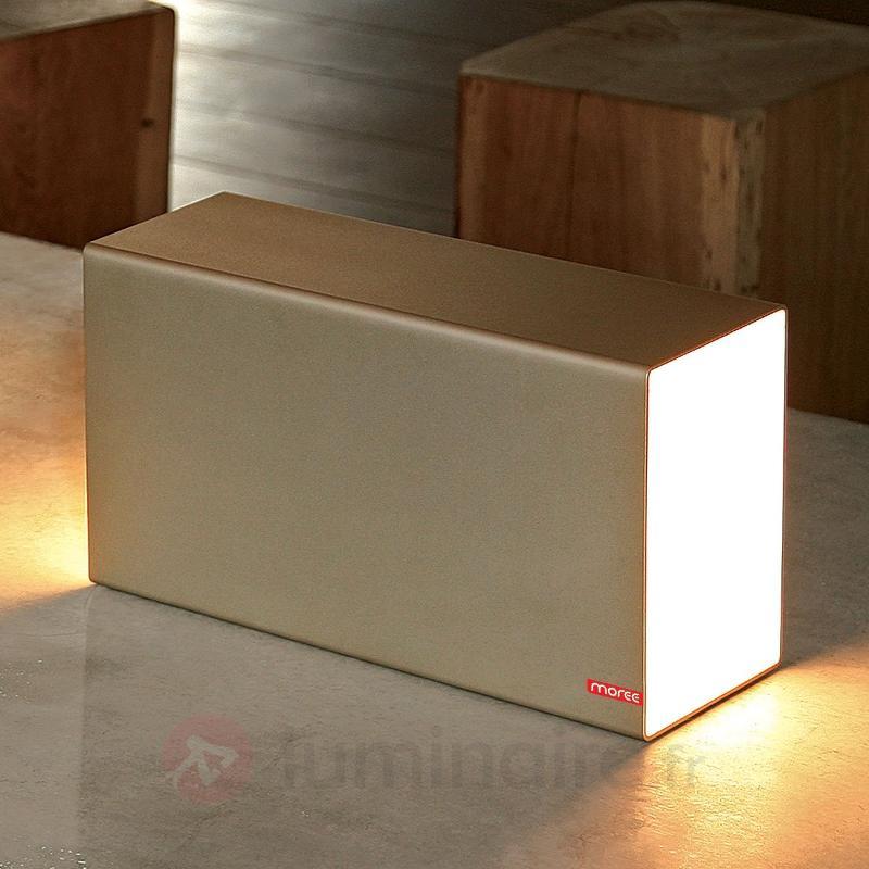 Lampe à poser ERASER 380 champagne - Toutes les lampes à poser