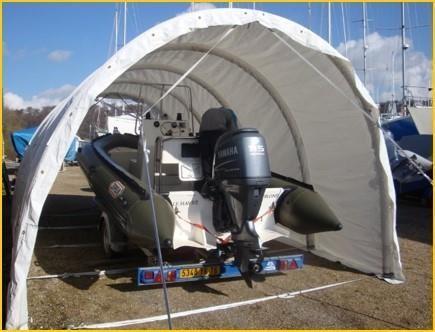 Boot-Garagenunterstände - null