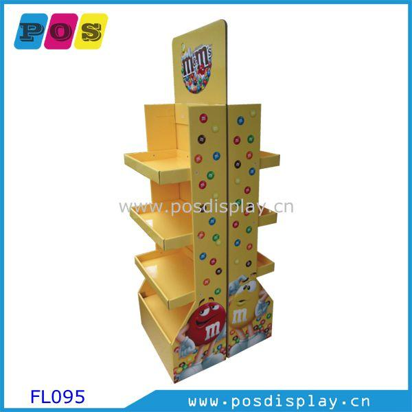 2 sided corrugated display shelf