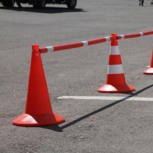 конус дорожный сигнальный -