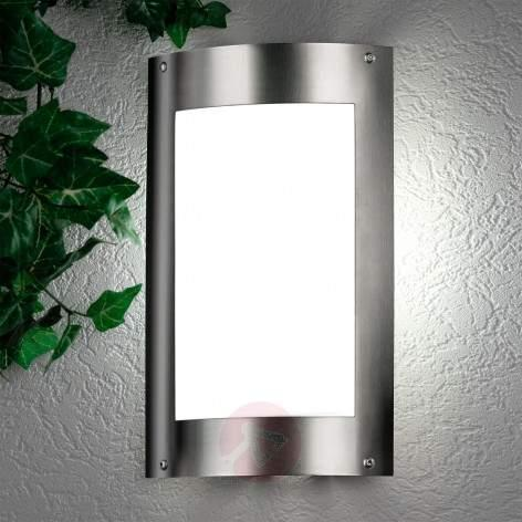 Wiando Contemporary Exterior Wall Lamp excl Sensor - stainless-steel-outdoor-wall-lights