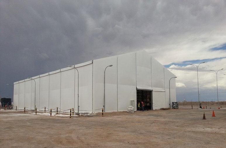 Hall industriel - Systèmes de construction démontable - Constructions industrielles