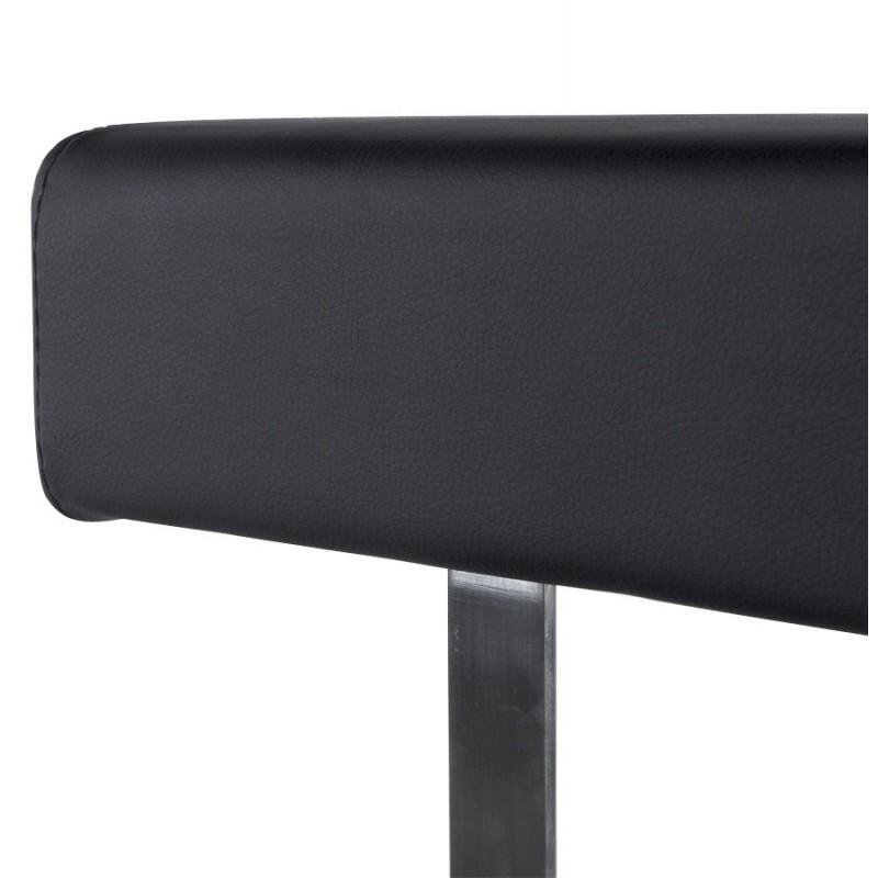 Tabouret de bar GARDON noir - Tabourets de bar design-642681427457