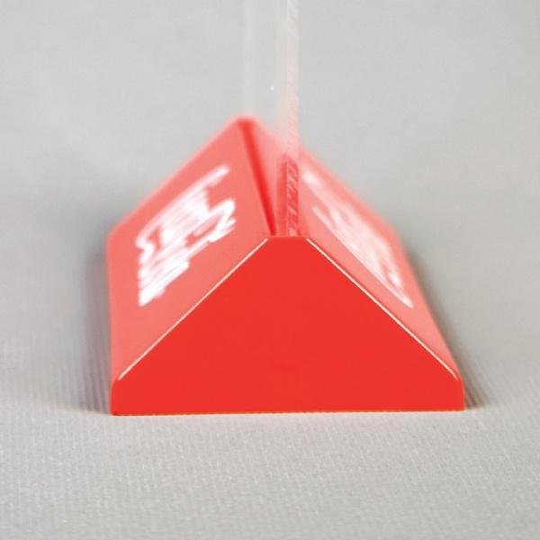 Leaflet Holders - Porte Menus Pyramide