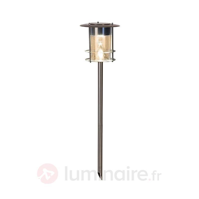 Lampe LED solaire Garden Stick ac piquet de terre - Toutes les lampes solaires