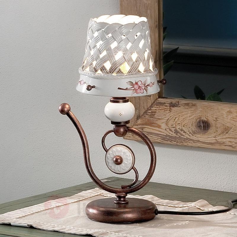Lampe à poser rustique Cesta - Lampes à poser rustiques