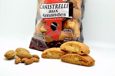 Canistrelli Aux Amandes - 350 Gr - null