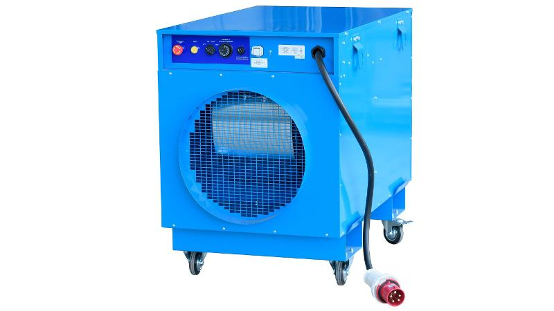 Elektrisches 45-kw-heizgerät - Heizgeräteverleih