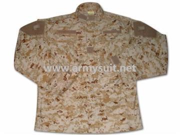 ACU Style Digital Desert Camo Uniform(With Shoulder Strap) - PNS2011