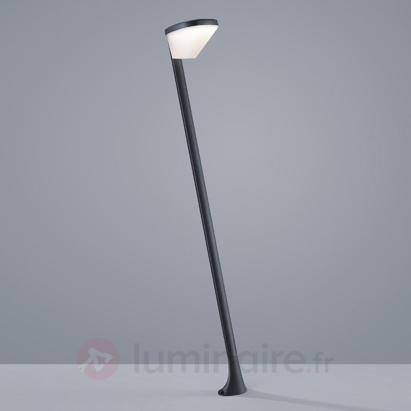 Borne lumineuse LED Volturno anthracite, 90 cm - Bornes lumineuses LED
