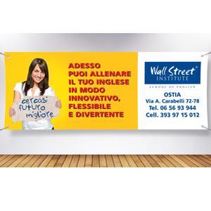 Striscioni Banner Microforato Mesh Roma