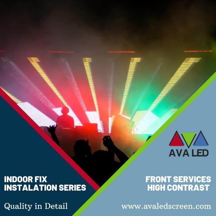 Telas de Led para Clubes - Monitores LED Mini Pixel LED AVA