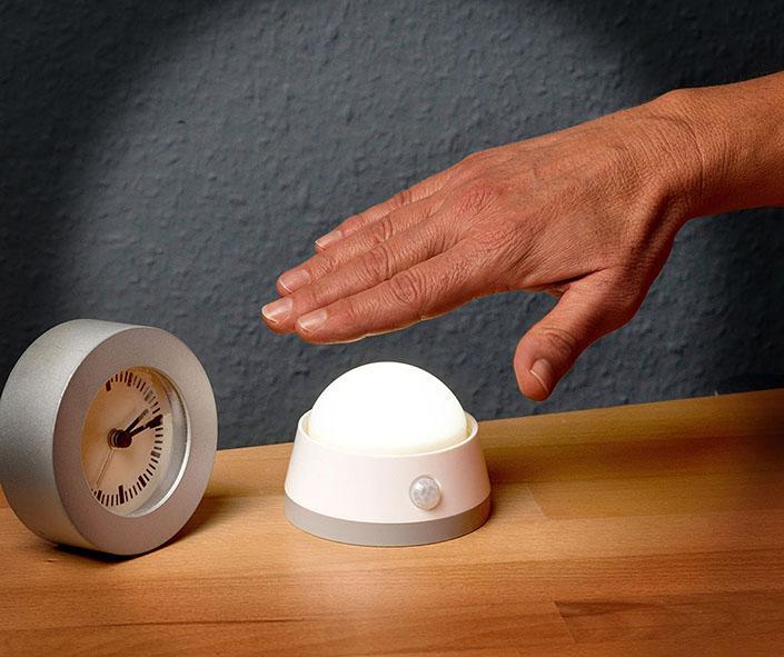 Battery LED Night Light NLB 02 BS with PIR sensor - null