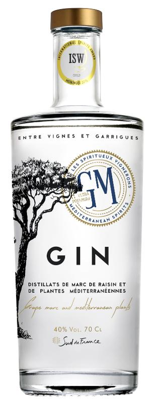 GIN GM- 70cl - Boissons