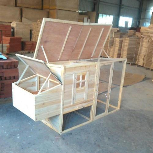 Coffre plat - Plafond en bois