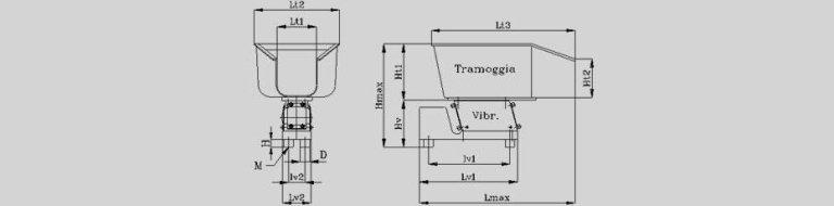 Tramogge di carico di fusione di alluminio - null