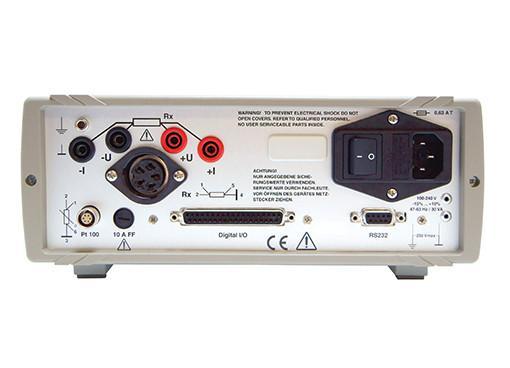制造和实验室毫欧表 - RESISTOMAT® 2316 - 分辨率高达0.1 µΩ,精度为0.03%Rdg。,对所有材料进行温度补偿,RS232和PLC接口标准(USB选件)