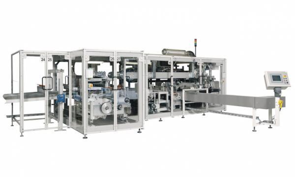 Packaging Machine OPTIMA OSR - Packaging Machine OPTIMA OSR: Bagger for Toilet Paper Rolls