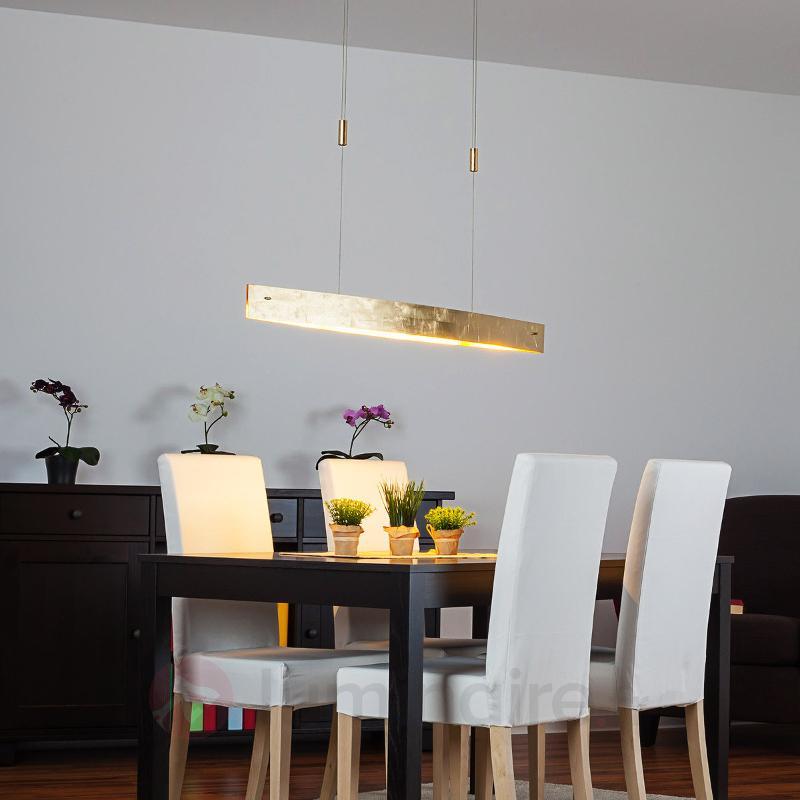 Suspension LED Malu aspect doré antique 119 cm - Suspensions LED