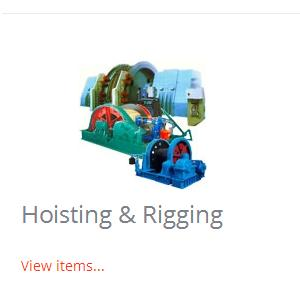 Mining Machinery and Equipment - Hoisting & Rigging, Transport, Tunneling, Electric Mucking Machines