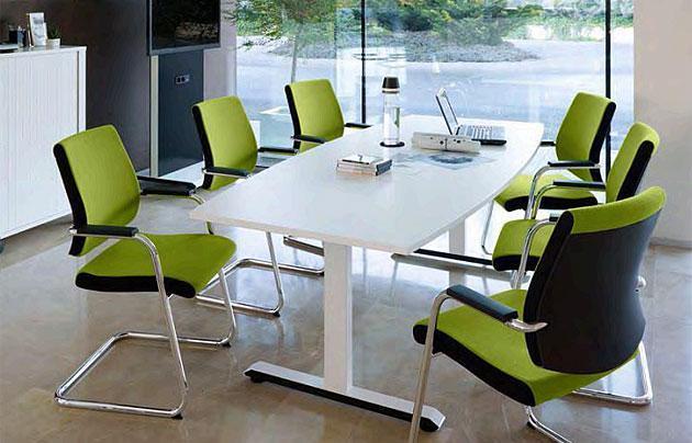 Konferenztisch temptation c - auch als Steh-Sitz-Tisch - null