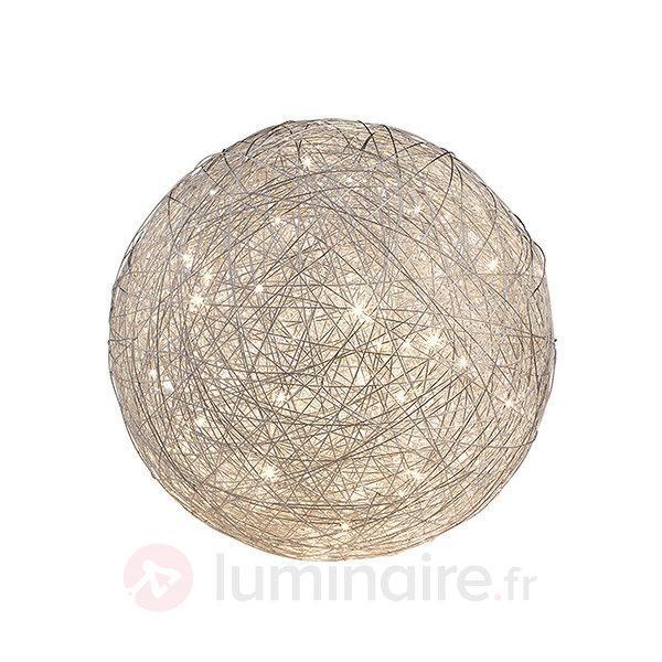 Lampe à poser LED Thunder, en forme de boule - Lampes à poser LED