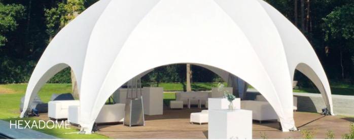 Hexadome tent - Hexadome tent for events