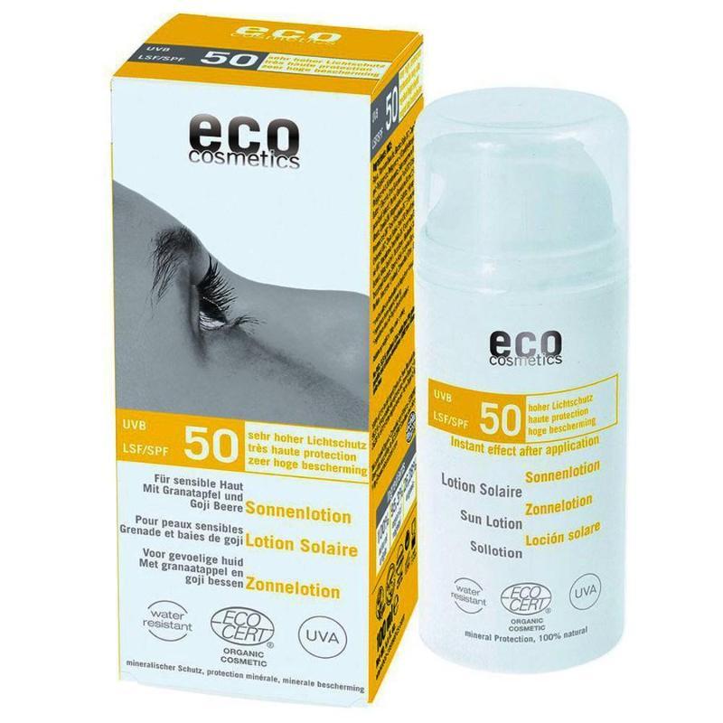 ECO Sonnenlotion LSF 50 - 100ml mit Granatapfel und... - null